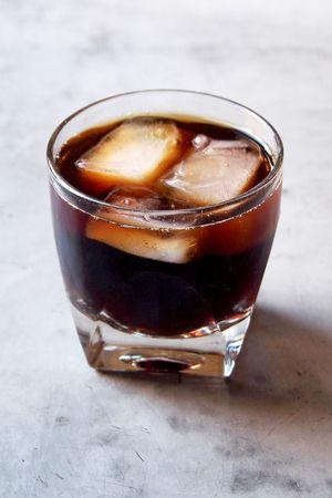 WAKE THE DEAD SHOT 1 oz Patron XO Cafe coffee liqueur 1 oz Patron Silver Tequila ½ oz espresso (I recommend Nespresso's Diavolitto)
