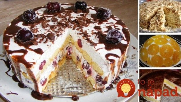 13 najlepších receptov na pečené aj nepečené torty, ktoré viete rýchlo pripraviť!