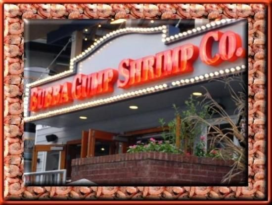Bubba Gump Shrimp Co. Restaurant and Market in Gatlinburg TN.  Fun atmosphere, good food.  Nice children's menu.
