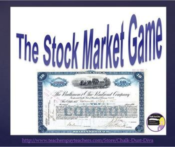 best great depression lesson plans images  great depression stock market simulation game u s history