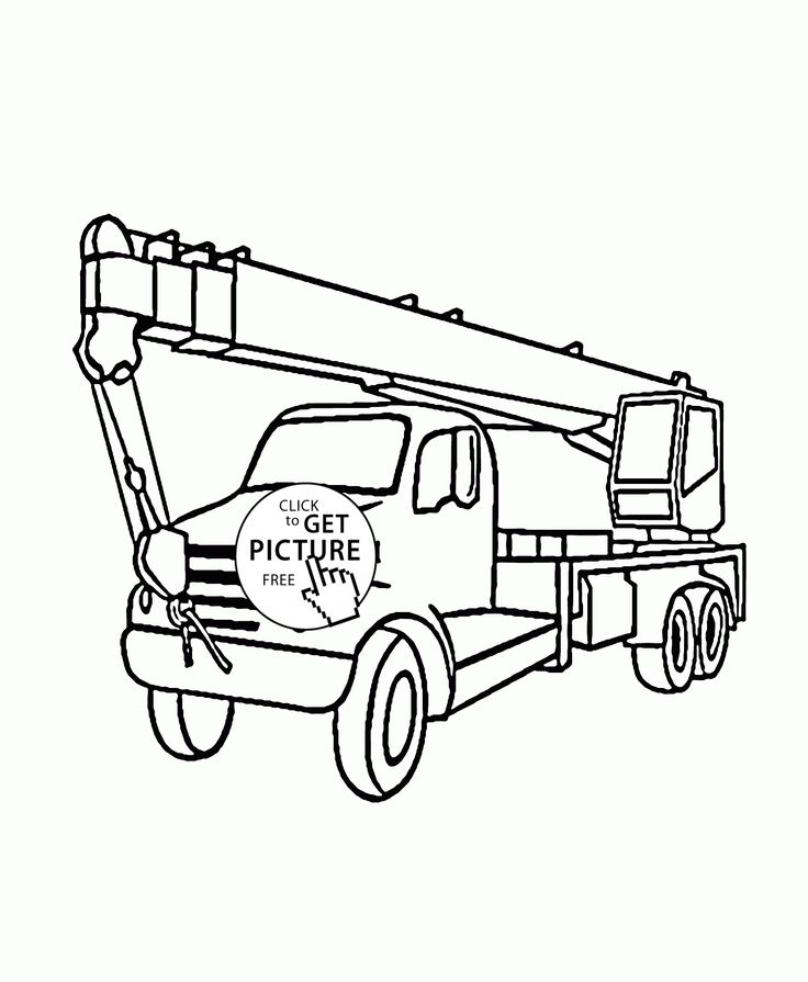 60 best Vu0027s room ideas images on Pinterest Tractors, Child room - best of free coloring pages big trucks