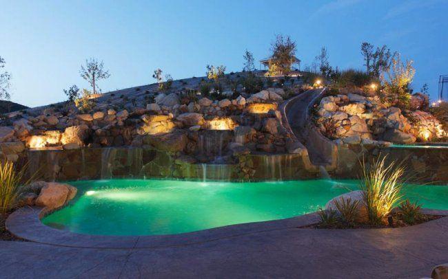 Amazing Backyard Pools : 10 amazing swimming pools wed love in our backyard  #BabyCenterBlog