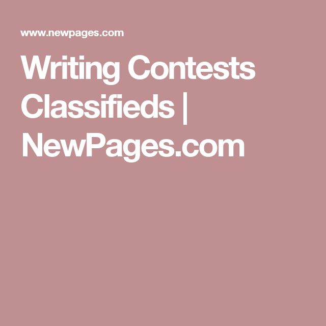 Writing Contests, Grants & Awards Poets & Writers