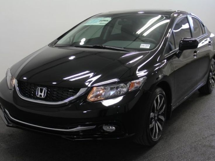 Honda Civic Sedan 2015 Black Just got this car 6/3/2015