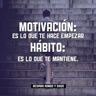 #motivación #habito
