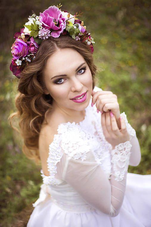 Sohemi_art / Svadobná kvetinová parta