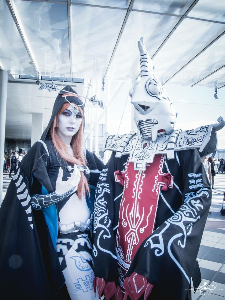 Midna true form and Zant cosplay cosplayer Zelda twilight Princess