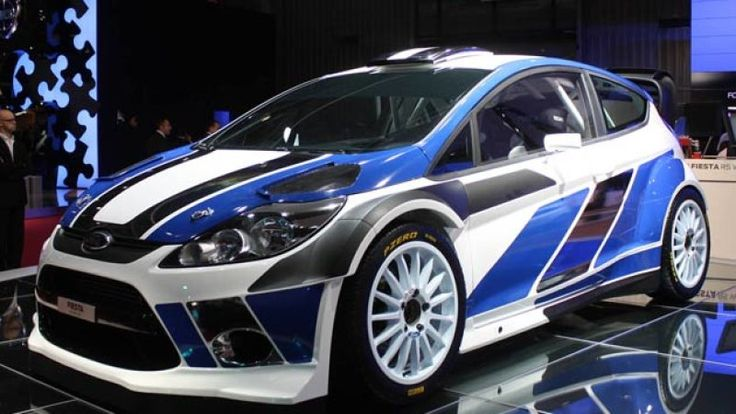 Paris 2010: Ford Fiesta RS WRC ready to hit the dirt running - Autoblog