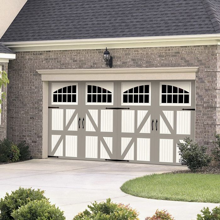 garage door hardware is an easy and affordable way to update the look of an existing