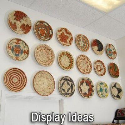 indian baskets - geometric basket - southwestern decor | Alltribes