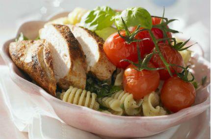 Kycklingpasta - italiensk