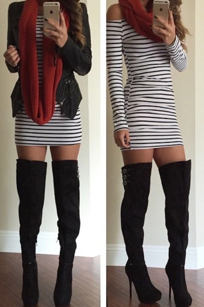 1000  ideas about Thigh High Outfits on Pinterest | Thigh high ...