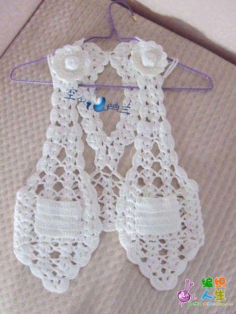 RECETAS DE TEJIDO: Bolero Crochet