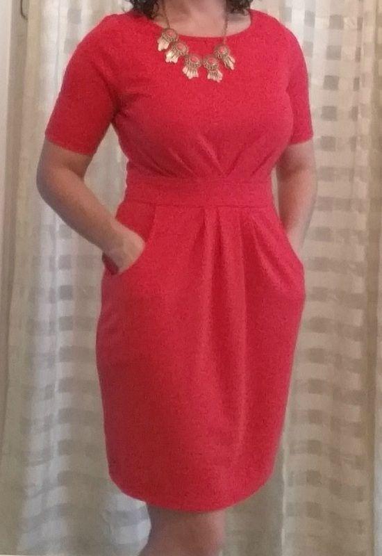 41 Hawthorn Elaine 3/4 Pleat Waist Dress I love wearing this dress!