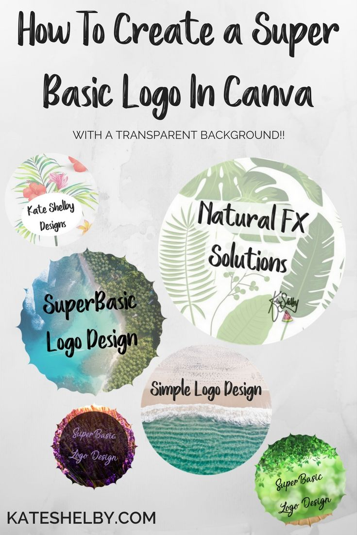 "Design Your Own Super Basic Transparent Logo In Canva Making a Transparent Logo In Canva: You will need premium Canva, simply choose PNG download and tick the ""Transparent"" box before downloading. Removing Your Own Background: You will need to choose dark button colours if you are removing your own background, you can then upload to …"