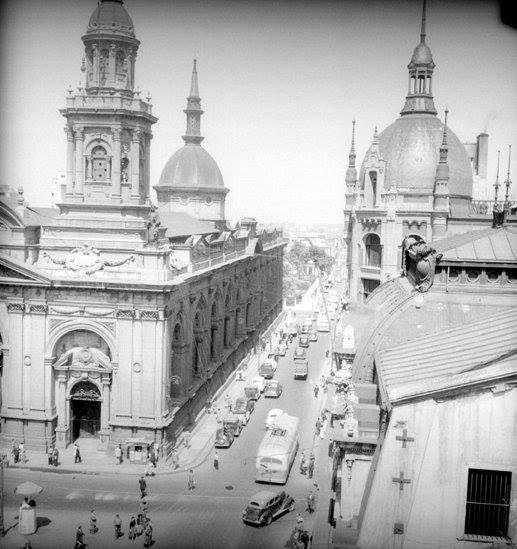Catedral de Santiago en el año 1951