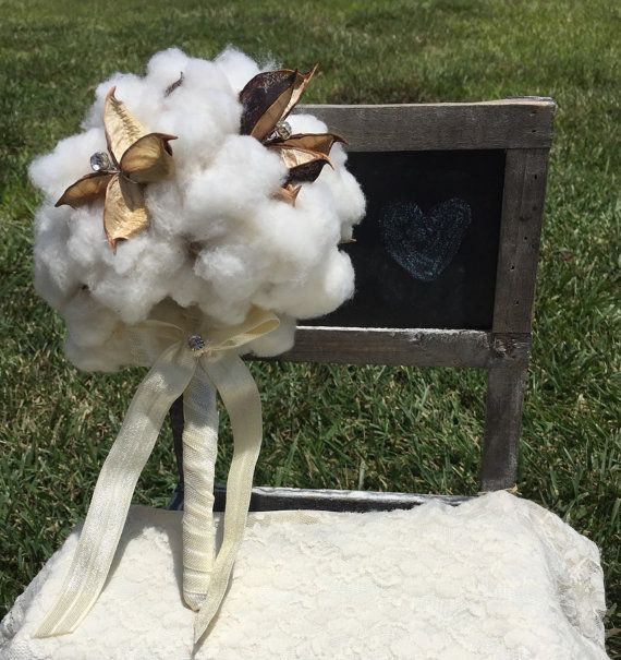 Handmade organic cotton bouquet with your choice by CircleCDesign