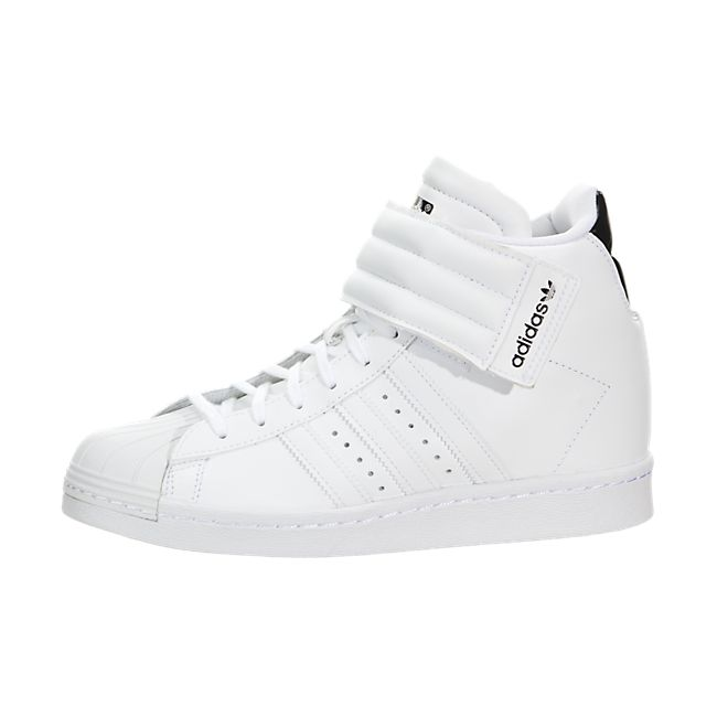 Adidas Superstar Up Strap Trainers White / White-Black | Rungearshoepro.com  - AD2390