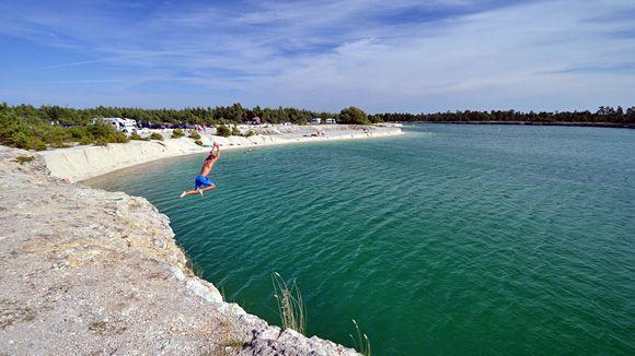 Blå lagunen | Gotland.net