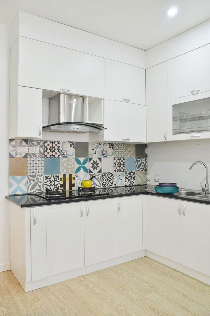36 id es d co avec des motifs carreaux de ciment cr dence carrelage de ciment et ciment. Black Bedroom Furniture Sets. Home Design Ideas