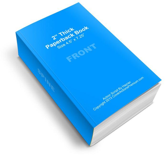 Softcover Book Mockup by Hazran Hamzah at Coroflot.com