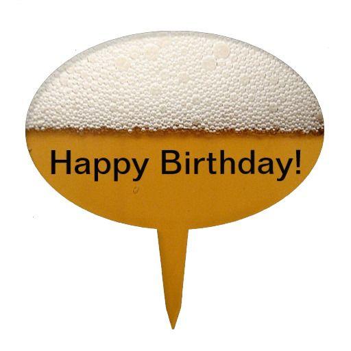 Acrylic Happybirthday Cake Toppers