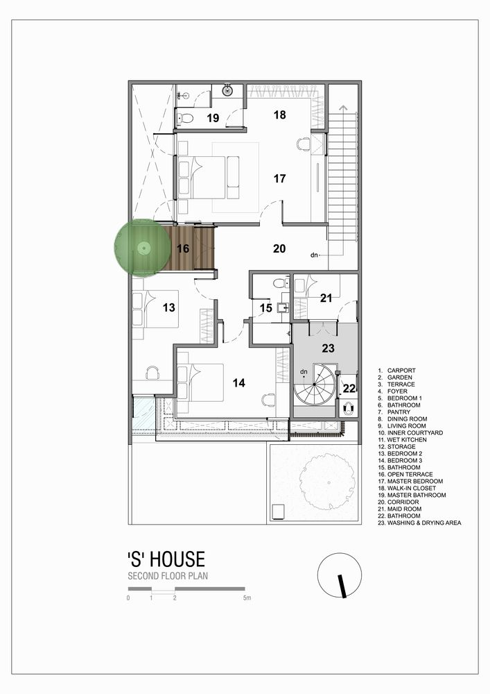 Gallery Of S House Simple Projects Architecture 43 Architecture Architectural Section 20x40 House Plans