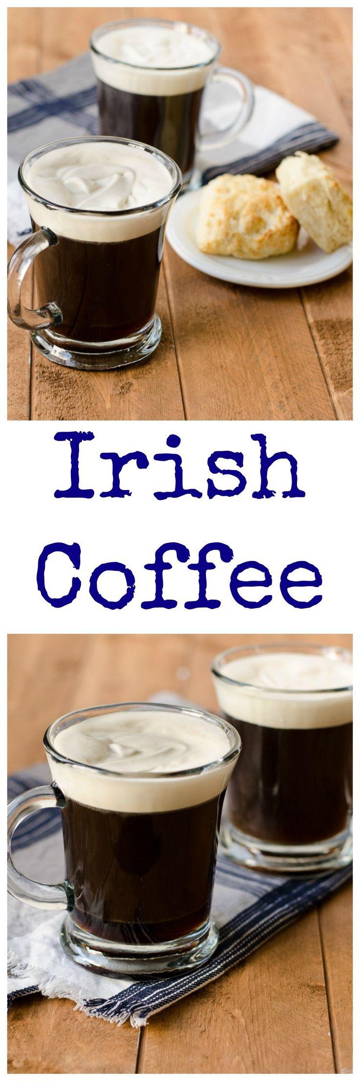 Irish Coffee with Bailey's Whipped Cream Recipe Coffee