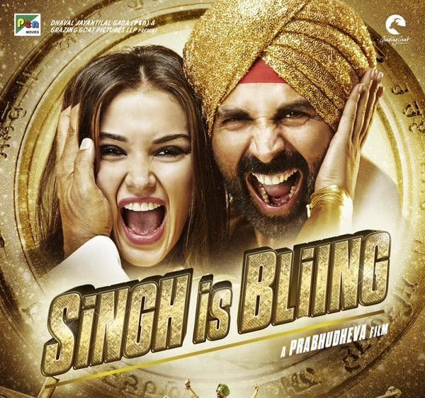 "Singh is Bliing's opening credits roll against a remixed version of Sneha Khanwalkar's fantastically peppy ""Tung Tung"". We see a delirious Kumar cracking out bhangra moves with such gusto that you might just feel your muscles ache on his behalf. There's only one word to describe Kumar's performance as Raftaar Singh: octane. Leading lady Jackson …"