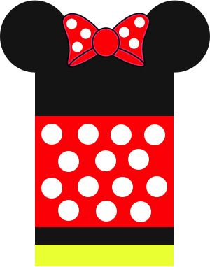 Disney Luggage Tags, Minnie Mouse Free printable perfect for your next Disney trip.