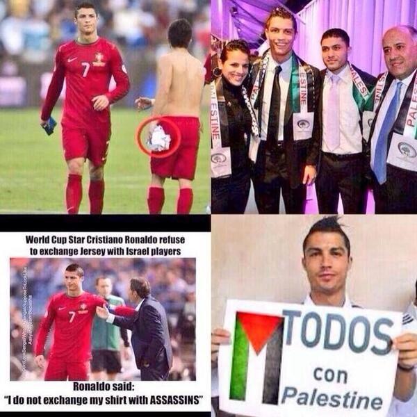 Respect for Ronaldo   #FreePalestine - Cristiano Ronaldo #FreeGaza