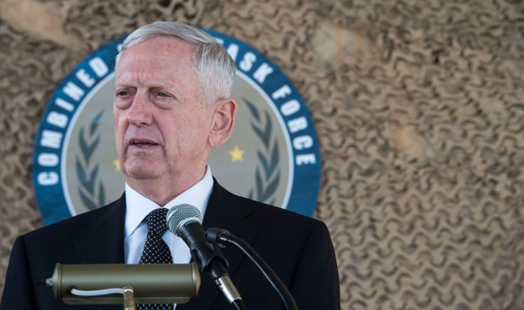 "Mattis: ""We're Not In Iraq To Seize Anybody's Oil"" & ""We'll Be In This Fight For A While"" 