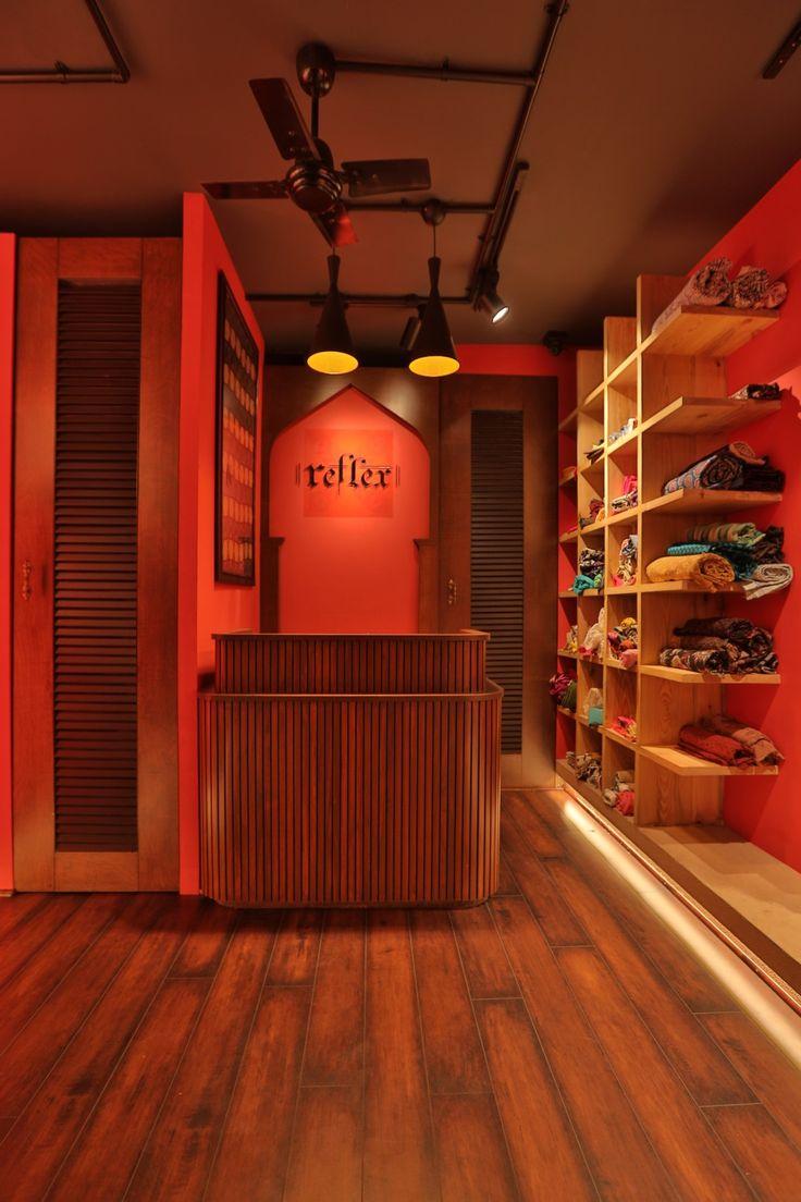 reception desk for retail
