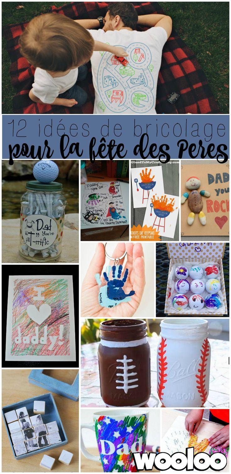 Vos enfants ont envie de gâter papa? Voici 12 idées de bricolage parfaites pour la fête des Pères!