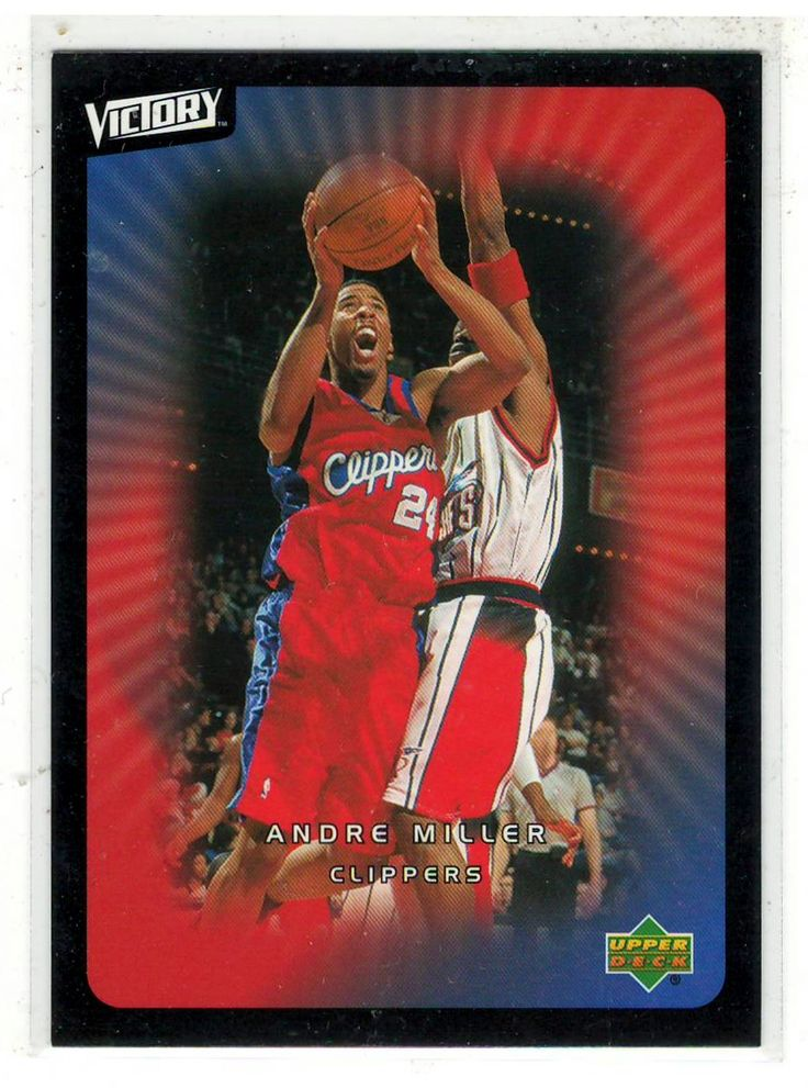 Sports Cards Basketball - 2003 UD Victory Andre Miller