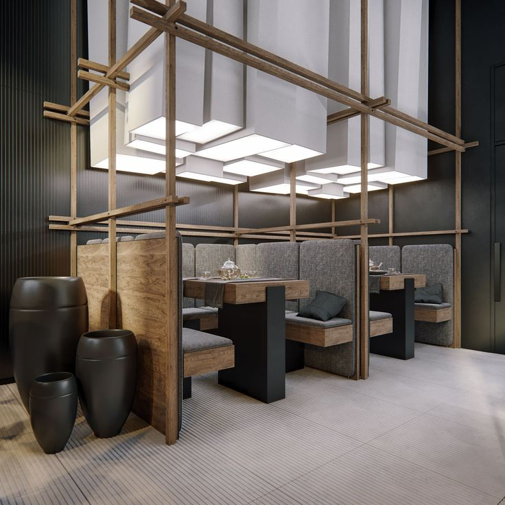 The basic idea of the project of Chinese restaurant in Odessa — is to combine the opposite feelings in two different rooms. The main hall is designed in a contemporary Asian style, which is approximate to minimalism, while the second hall plunges us into …