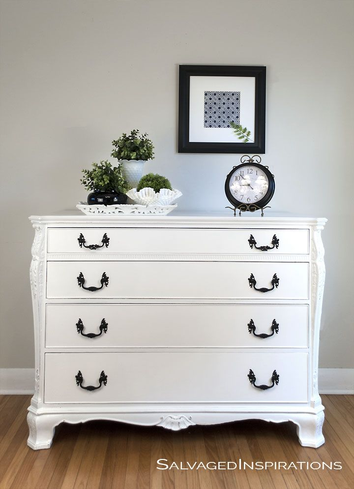 It Youu0027re Looking For A Clean White, Annie Sloansu0027 Pure White Chalk.  Repainting FurnitureChalk Paint ...
