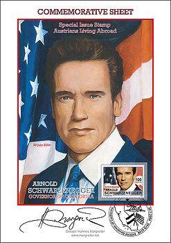 Mr. Arnold Schwarzenegger by Johannes Margreiter