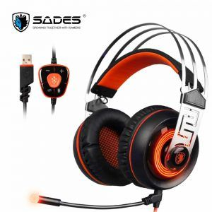 SADES A7 USB 7.1 Surround Sound Stereo Gaming Headset