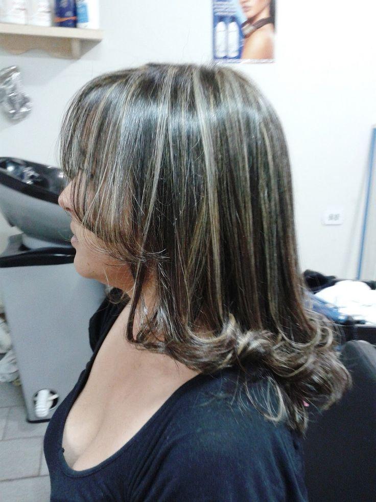 Mechas Platinadas Tinte Gris Pinterest Gray Hair