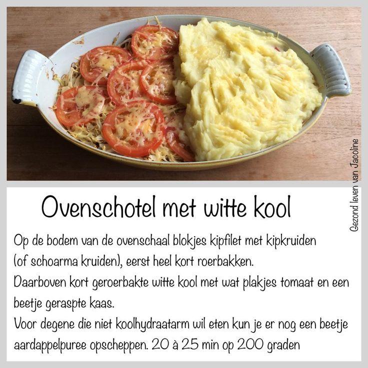 Een lekkere overschotel die zeker de moeite is om te proberen, voor mensen die kookhydraat arm eten of gewoon lekker met puree!