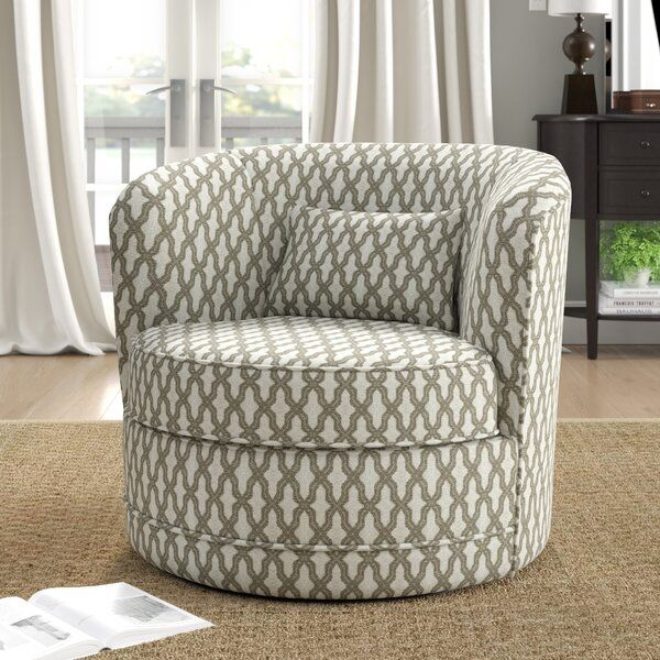Dmitri Swivel Barrel Chair Swivel Barrel Chair Swivel Chair