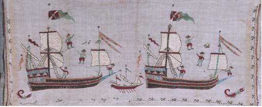 Skyros ship embroidery Benaki