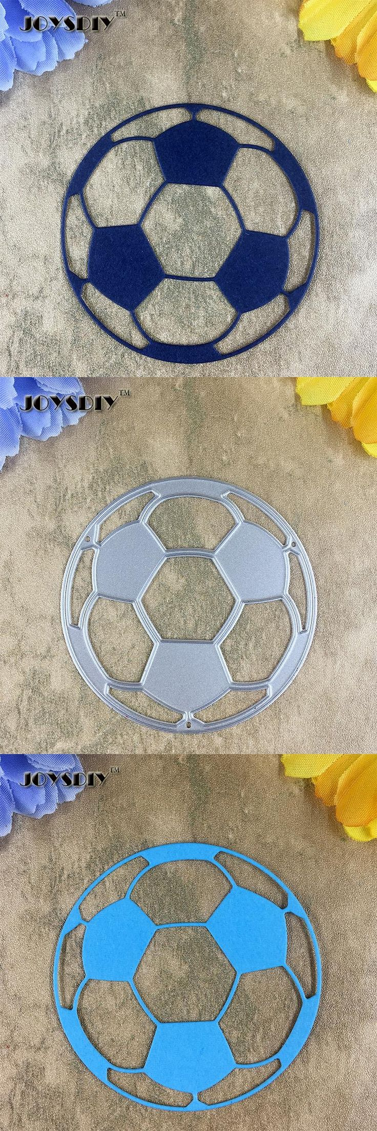 [Visit to Buy] Football Item 01 Card Maker Metal Die Cutting Dies For DIY Scrapbooking Photo Album Decorative Die Cutting Template  #Advertisement