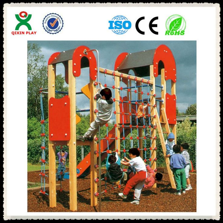 wholesale indoor playground toddler wooden jungle gym commercial kids indoor jungle gym indoor jungle gyms for kids QX-077A