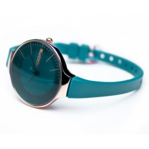 Hoops Watch Glam Gold Petrol blue. love the colour.