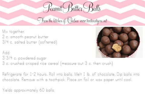 The most amazing peanut butter balls! Only 5 ingredients!