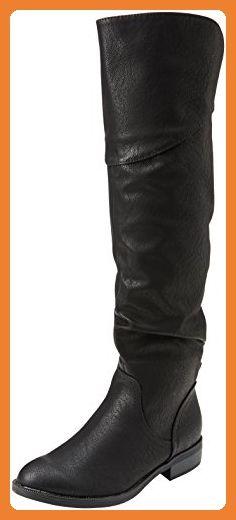 Miss KG Damen Willa Langschaft Stiefel, Schwarz (Black), 41 EU - Stiefel für frauen (*Partner-Link)