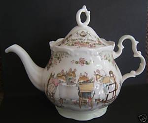 Brambly Hedge Royal Doulton Full Size / Large Teapot Teekanne Theiere Tetera