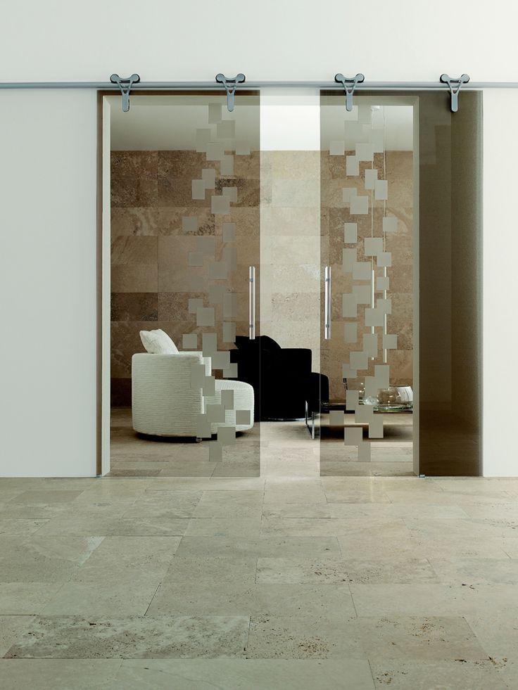 Internal Double Glass Door ~